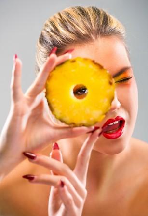 Ingrijirea pielii cu ananas