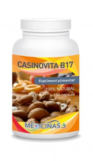 Casinovita B17- Suplimentul naturist cu vitamina B17