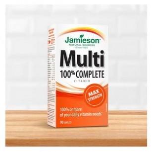 Jamieson Multivitamine- alegerea naturala pentru energia ta zilnica!