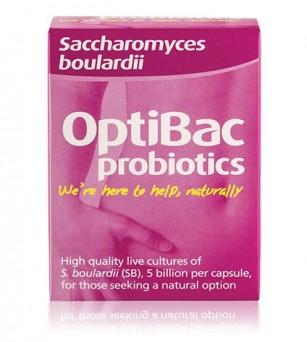 Optibac Probiotic Saccharomices boulardii – Pentru o digestie sanatoasa!