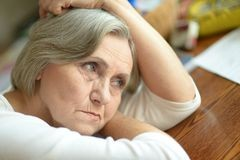 Depresia la vârstnici