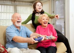 Jocurile pe computer ar putea ușura depresia la persoanele în vârstă