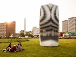 Smog Free Tower - cel mai mare dispozitiv de purificare a aerului din lume