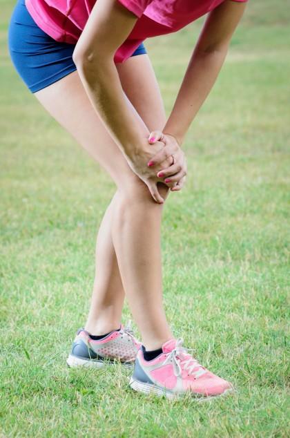 Leziunile genunchilor nu se vindecă complet