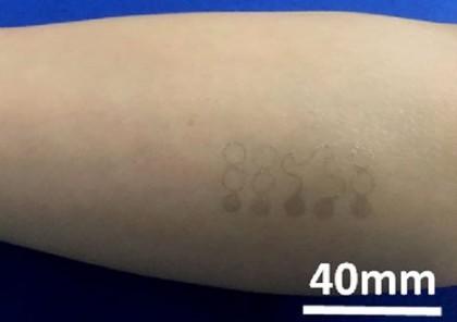 Senzorul sub formă de tatuaj temporar ce măsoară semnele vitale