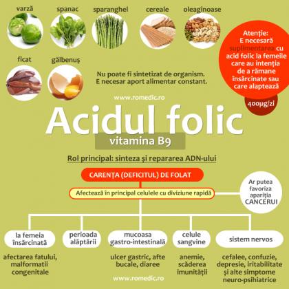 Acidul folic în sarcină