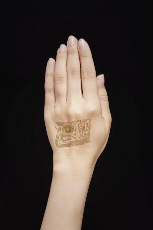 Tatuajul electronic inteligent pentru monitorizarea sănătății