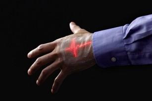 Pielea electronică ce afișează în timp real date despre semnele vitale