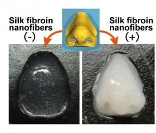 Fibrele de mătase îmbunătățesc bio-cerneala pentru țesuturile și organele artificiale, imprimate 3D