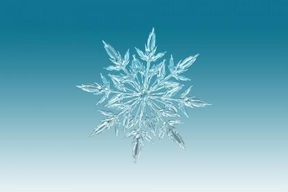 Fulgii de zăpadă pot conține cantițăți variabile de plastic