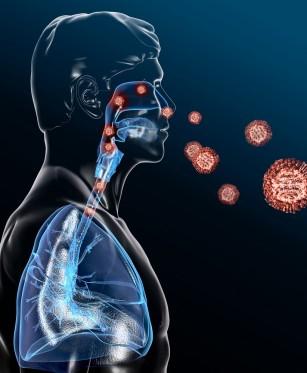 """COVID-19 cauzează un răspuns celular """"neașteptat"""" la nivelul plămânilor"""