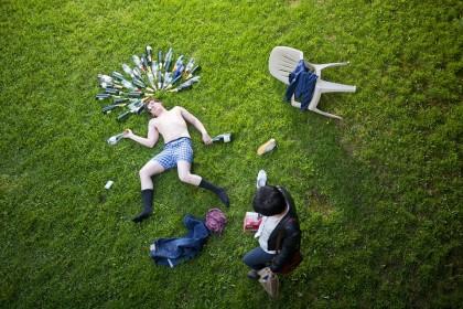 Îmbătrânirea prematură a vaselor de sânge, asociată cu consumul de alcool în perioada adolescenței