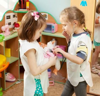 Jocul la preșcolari (2- 6 ani)