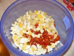 Salată orientală cu maioneză