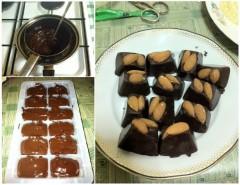 Bomboane dietetice din ciocolată