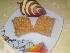 Prăjitură cu mere și alune