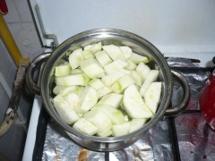 Supă - cremă de dovlecei și cartof (pentru bebe de la 7 - 8 luni)
