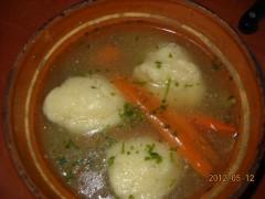 Supă cu găluște