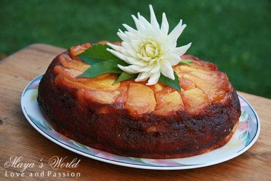 Rețetă Prăjitură cu mere caramelizate