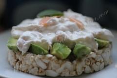 Cremă de brânză cu salmon și avocado