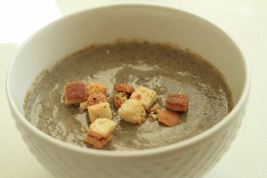 Rețetă Supă cremă de ciuperci