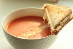 Supă cremă de roșii cu orez