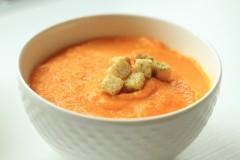 Supă cremă de morcovi cu portocale și ghimbir