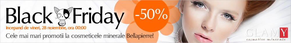 Black Friday - reduceri la cosmeticele minerale