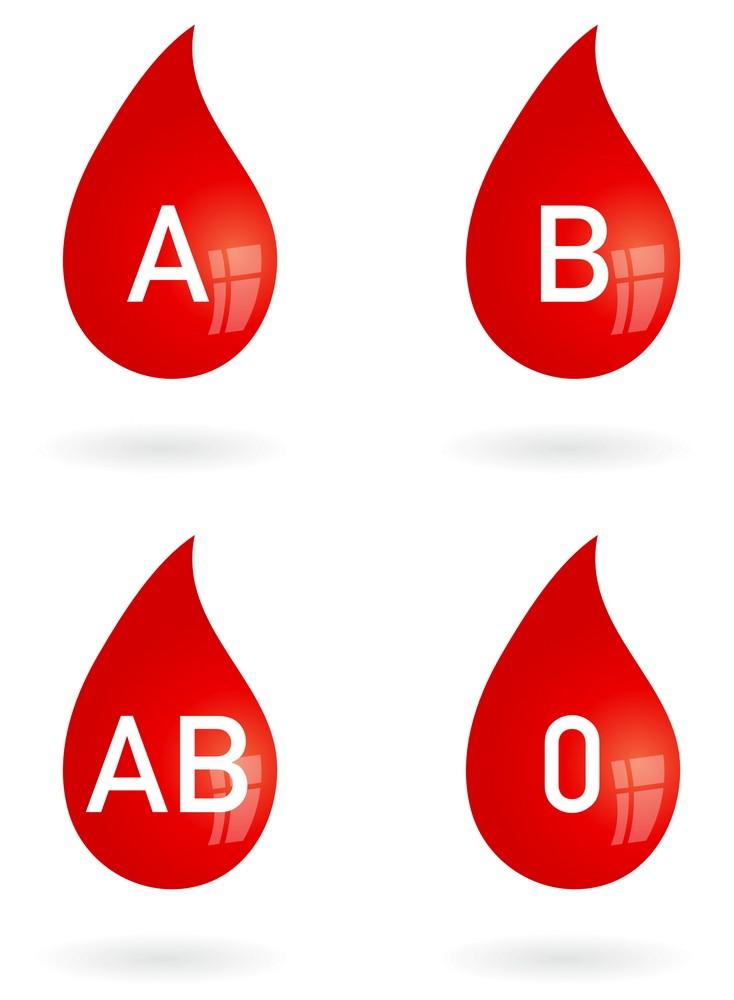 datând tipul de sânge