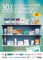 Produsele pentru sistemul osos și articular, cu 30% reducere la Sensiblu
