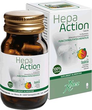 Hepa Action - Susține funcționalitatea ficatului
